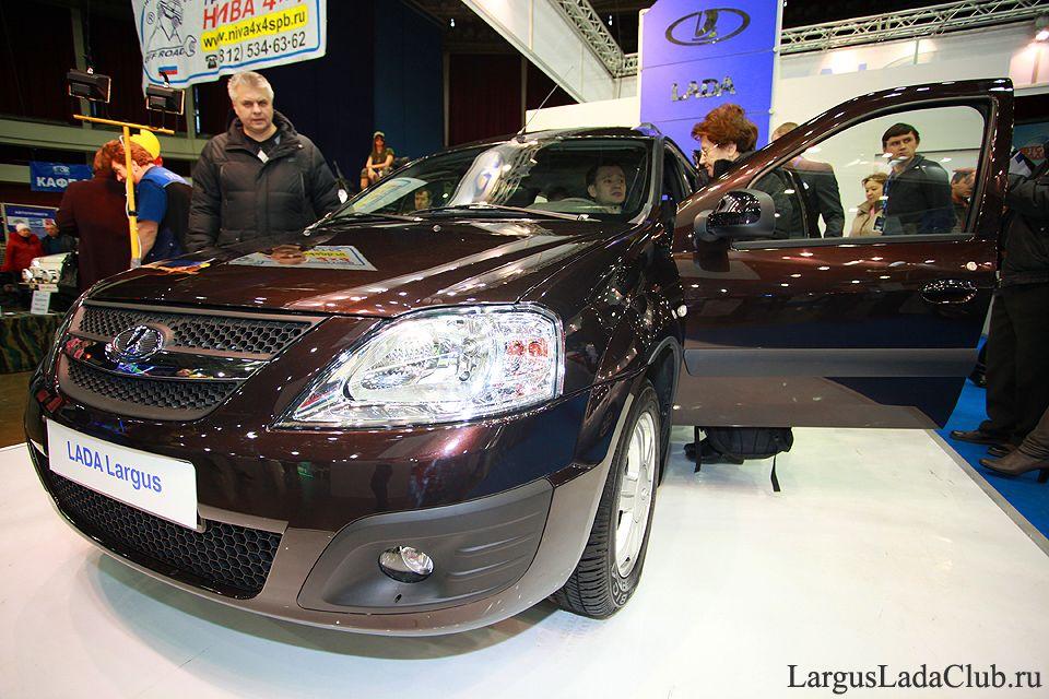 Lada Largus на мир автомобиля 2012