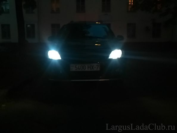 Лада ларгус лампа подсветки номера